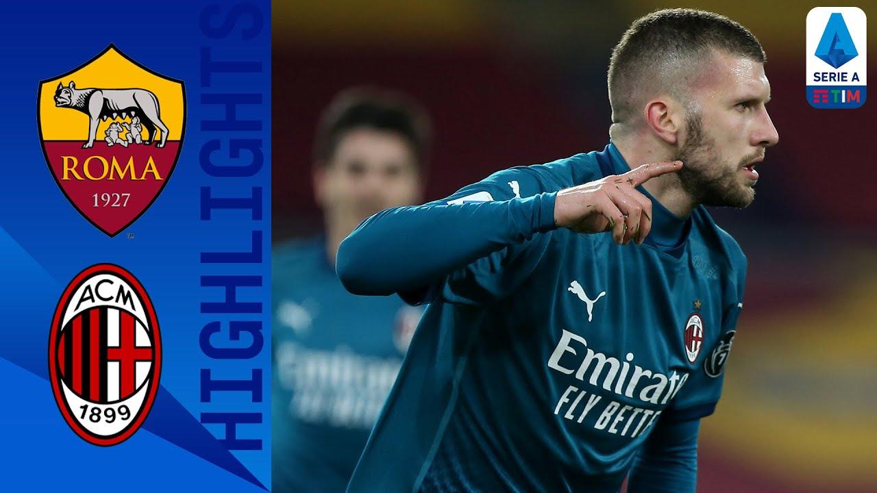 Roma 1-2 Milan | Il Milan sbanca l'Olimpico e insegue l'Inter | Serie A TIM