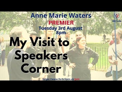 Anne Marie Waters at Speakers Corner