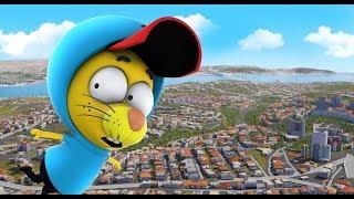 CityEngine 3D City Model for the Cinema: Cartoon 'Kral Sakir'