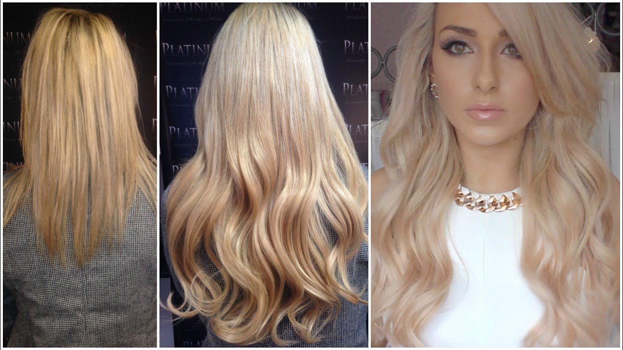 How To Get Longer Hair My New Hair Hair Extension Experience