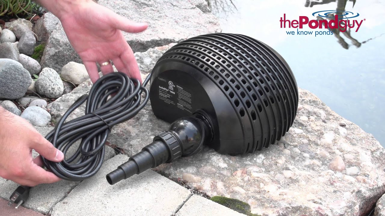 The Pond Guy Product Video Solidflo G1 Solid Handling Pump