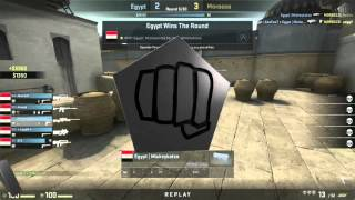 The World Championships 2015 (African Qualifier) | Egypt vs. Morocco | (Map: Cache)