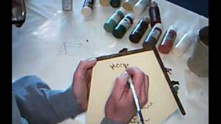Acrylic Painting Lessons With Ellie Birdhouse Part 4 Of 4