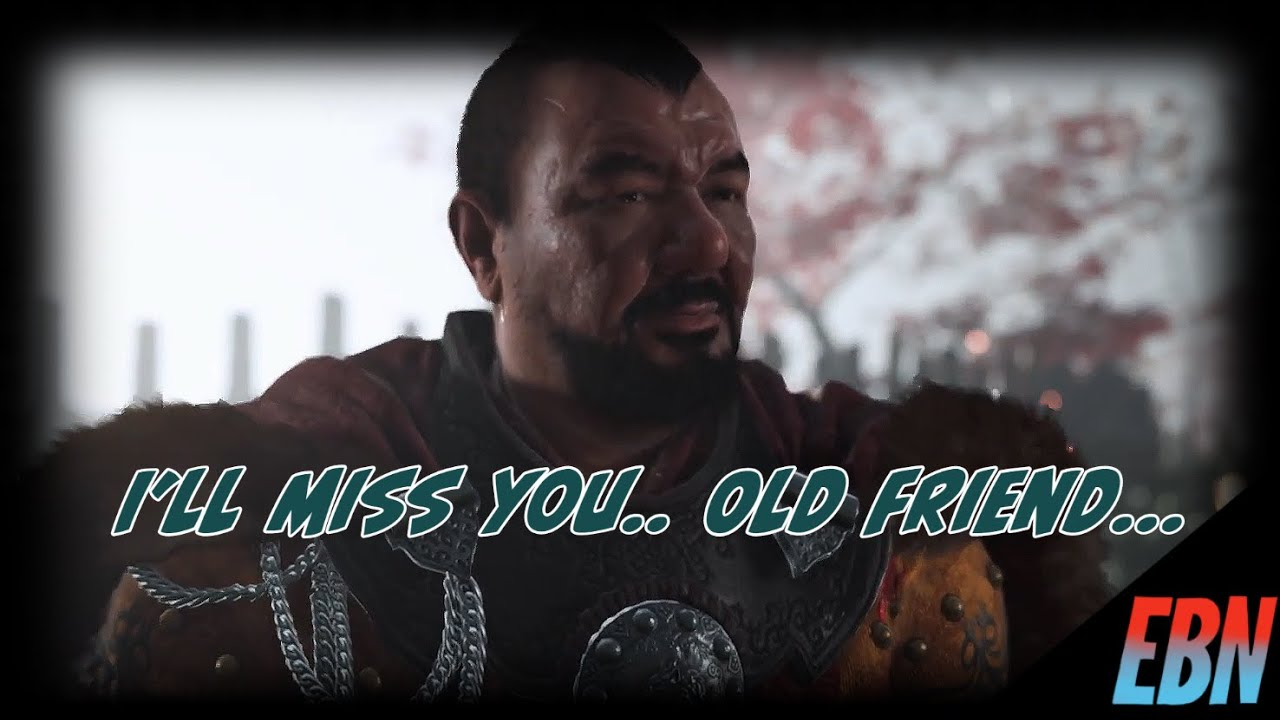 I'll Miss You Old Friend (SPOILERS)