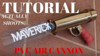 Make The Logan Paul Merch CANNON! Air pressure pvc tee shirt launcher