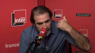 Eric Cantona répond aux questions de Léa Salamé