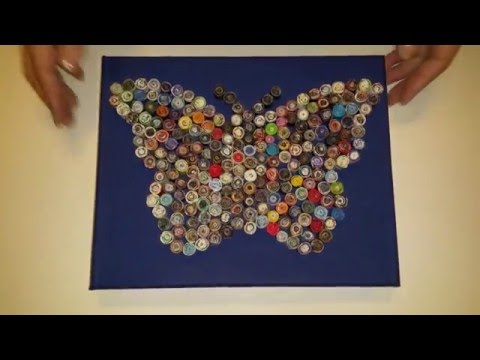 How To Use Magazine Strips to Create Coiled Art Work