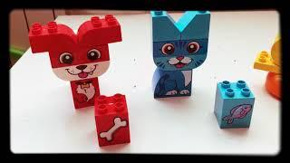 В гостях у  LEGO DUPLO. Мои первые домашние животные.