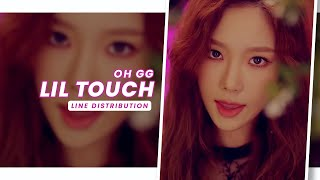 Oh GG • Lil' Touch | Line Distribution