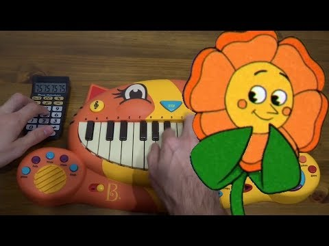 Cuphead - Floral Fury ON A CAT PIANO AND A DRUM CALCULATOR