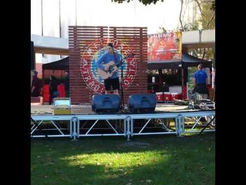 Melrose Music Sundays - Josh Shirah - 2016 at the Melrose Trading Post