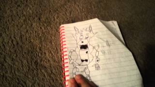 SEANS DRAWINGS OF FOXY