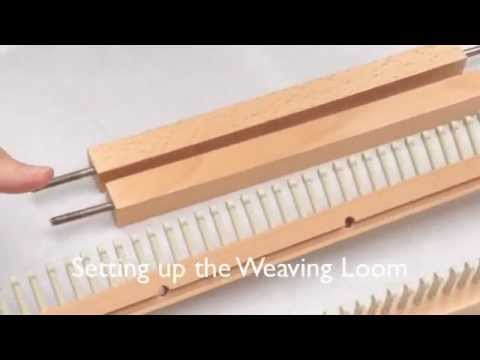 Weaving With Loom Extenders Youtube