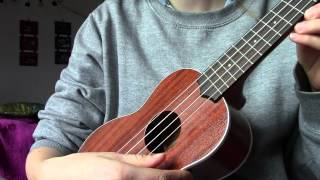 Ukulele tuning one note sharper