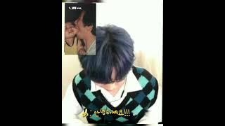 [B1A4 영통팬싸] 주접에 대한 같은 그룹 다른 대처 / 공찬식.... 천재 아이돌