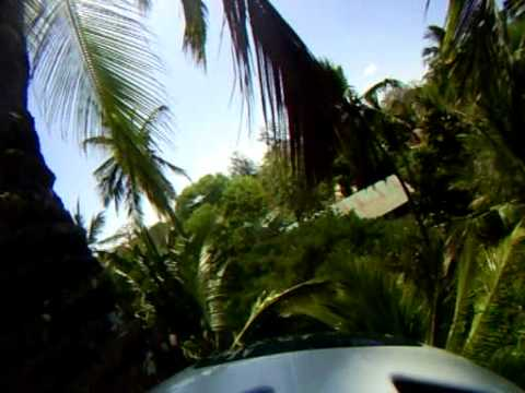 60ft coconut tree climb by H2O Extreme, via head cam
