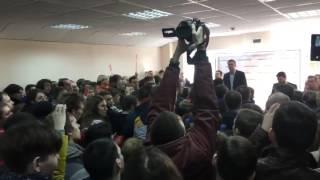 Алексей Навальный в Кемерово. Версия 2.