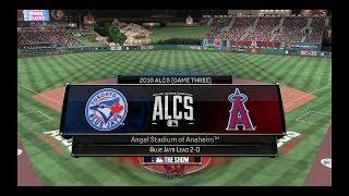 MLB 16 The Show - Blue Jays franchise -  ALCS Game 3 - Angles Vs. Blue Jays  - (62)