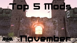 """Defend Trumps Wall"" Arma 3 Top 5 Mods - November 2016"
