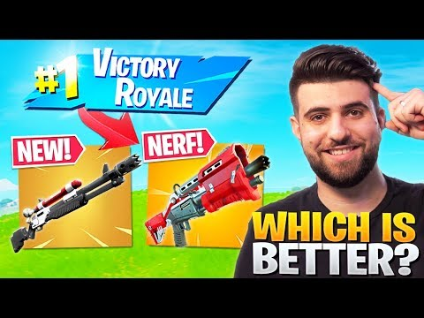 Charge Shotgun VS Tac! Which Is BETTER? - Fortnite Season 3