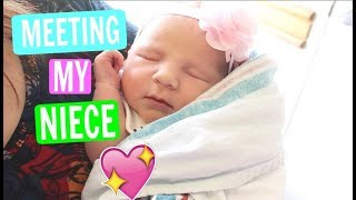 Meeting My Niece For the FIRST TIME!