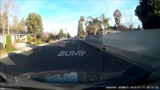 CA DMV Driving Test Dash Cam