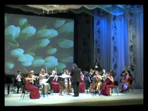"An ensemble of soloists ""Classic-Avantgarde"" in Astana"