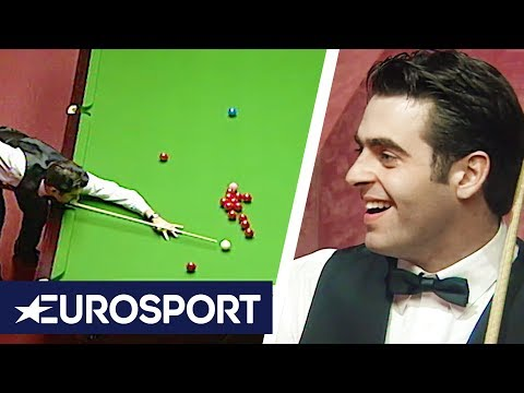 Ronnie O'Sullivan Fastest 147 Break Ever | 1997 Snooker World Championship | Eurosport