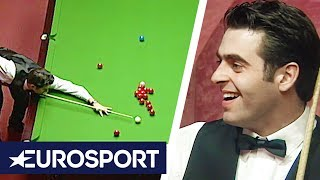 Ronnie O'Sullivan Fastest 147 Break Ever | 1997 Snooker World Championship | Eurosport