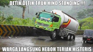 Download HEBOH !!! Pertama di Tahun 2021, Detik Detik Truk Hino Standing di Sitinjau Lauik