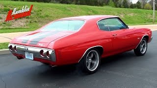 Wicked Sounding 1971 Chevelle - 406 Roller Cam Chevy V8