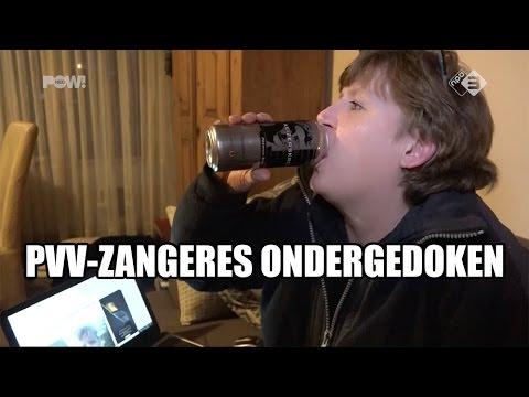 PVV-zangeres ondergedoken