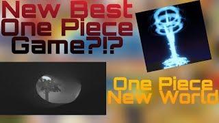 Neues One-Piece-Spiel?!?! | Ein Stück neue Welt | Roblox