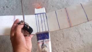 aeromodelo com eletronica de carrinho
