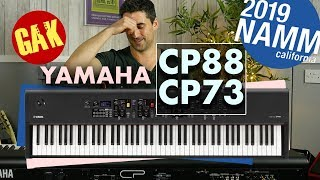 NAMM 2019 | Yamaha CP88 | CP73