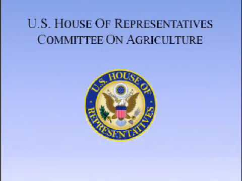 Subcommittee on Conservation, Energy, and Forestry – Public Hearing
