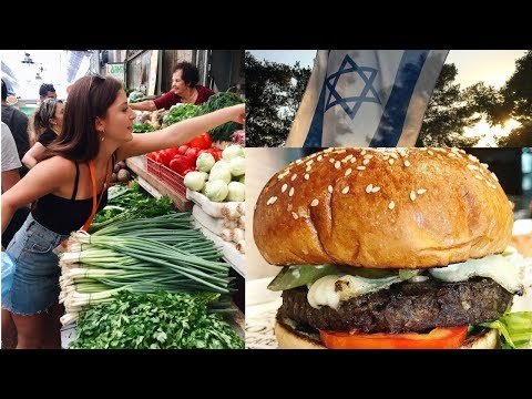 MY VEGAN TRIP TO ISRAEL pt.1 ll Sienna Ariel