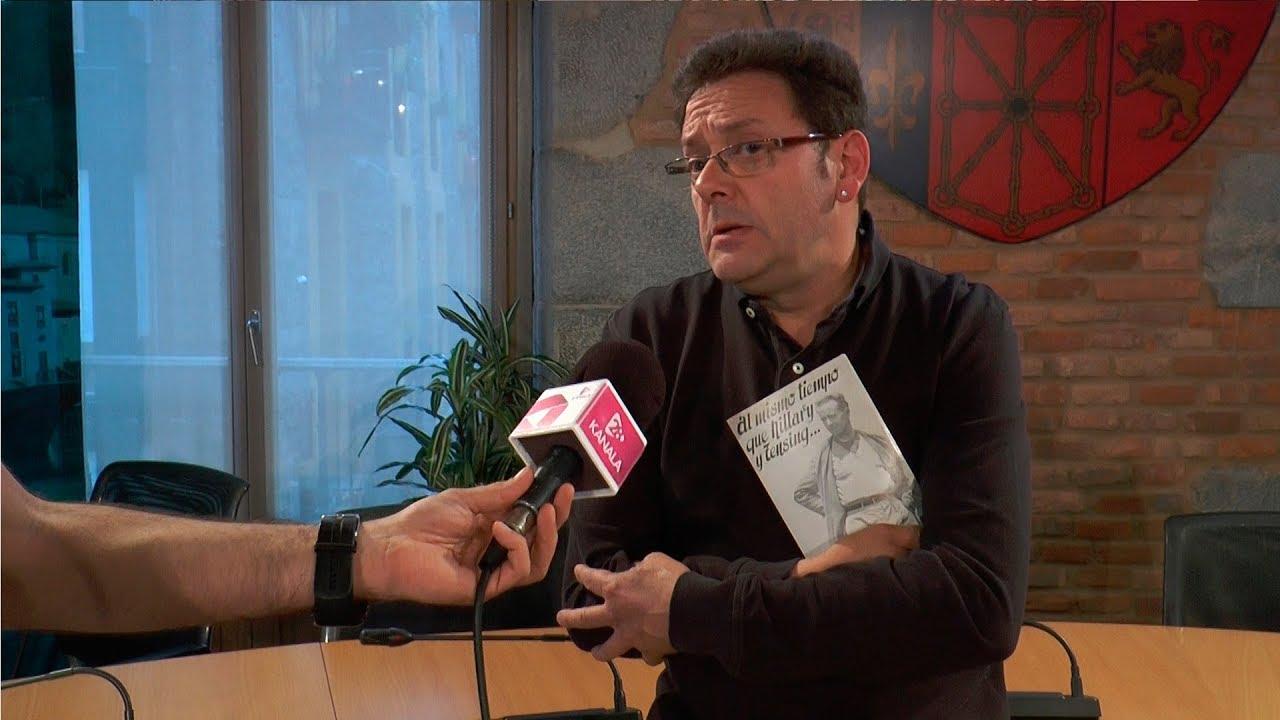 Sebe Peña mendizale tolosarraren nondik norakoak  azaldu ditu Iñaki Garcia Uribek