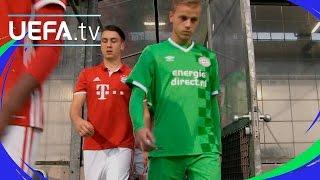 UEFA Youth League highlights: Bayern 0-2 PSV