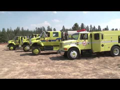 Cal OES INSIDE LOOK: Modoc July Complex Fire Incident Command Post