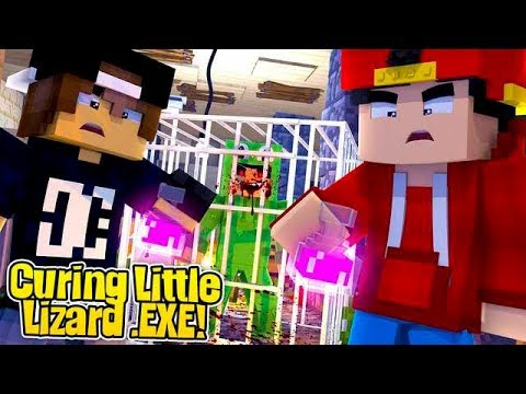 Minecraft .EXE - ROPO & JACK TRY CURE LITTLE LIZARD .EXE!!