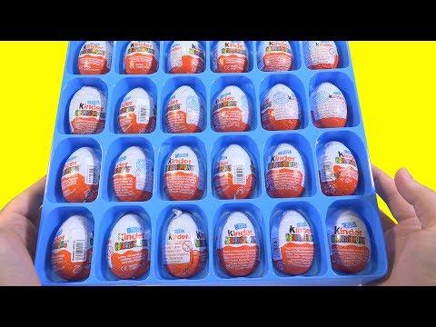 Видео, Киндер Сюрпризы 2005 года редкие старые яйца из Германии Rare Kinder Surprise eggs