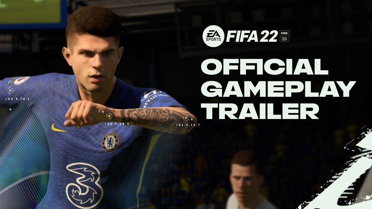 PS5   PS4《FIFA 22》官方遊戲玩法預告片