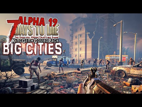 The One With The Bicycle - Big Cities Part 5 - 7 Days To Die Alpha 19 Zombie Survival Gameplay thumbnail