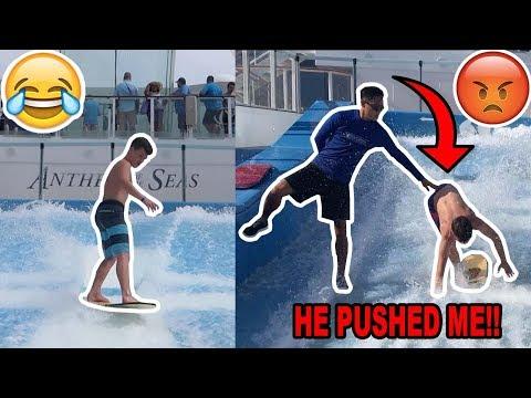 INSANE SURFING FAILS!! (HILARIOUS)