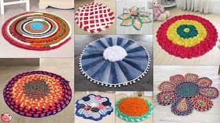 Old Clothes Reuse !!! 9 Beautiful Doormat Making    Handmade Things