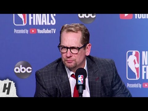 Nick Nurse Postgame Interview - Game 5 | Warriors vs Raptors | 2019 NBA Finals