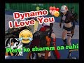 Female Fan Saying I Love You to Dynamo, Dynamo Funny Reaction, Bhai mere ko itni sharm aa rahi
