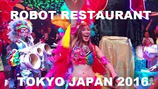 Robot Restaurant Shinjuku Tokyo Japan 2016