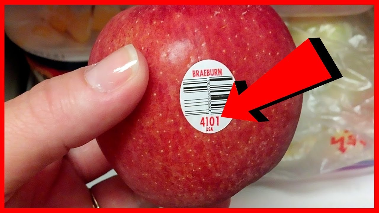 Here's The Hidden Meaning Behind Fruit And Vegetable Stickers